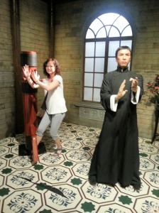 Another Kungfu Master, Donnie Yen of Ip Man fame.  Hubby's idol :)